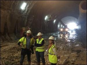 Autzaganeko tunelen obrak