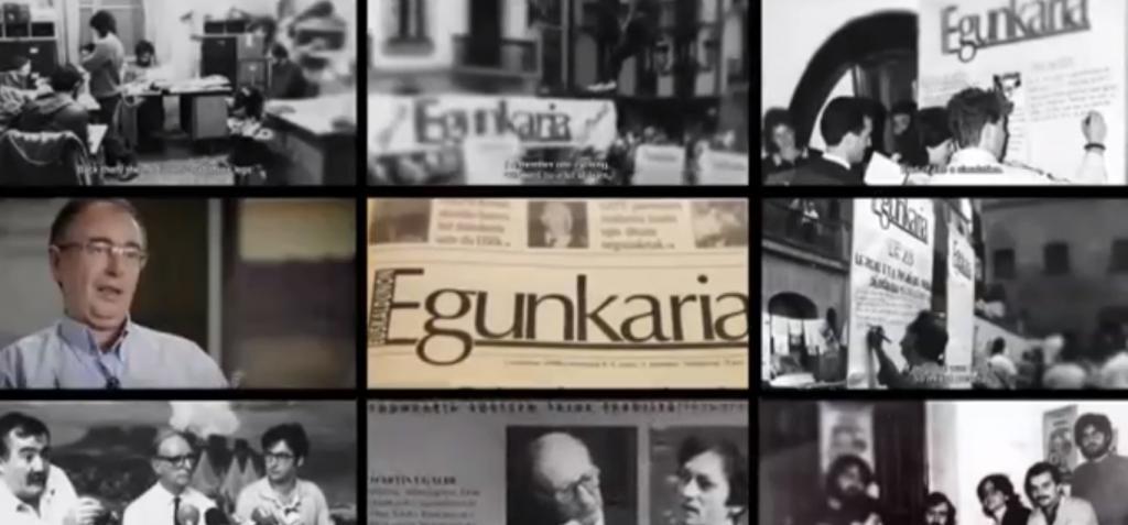 'Gaur irekiko ditu ateak' dokumentalaren irudi bat.
