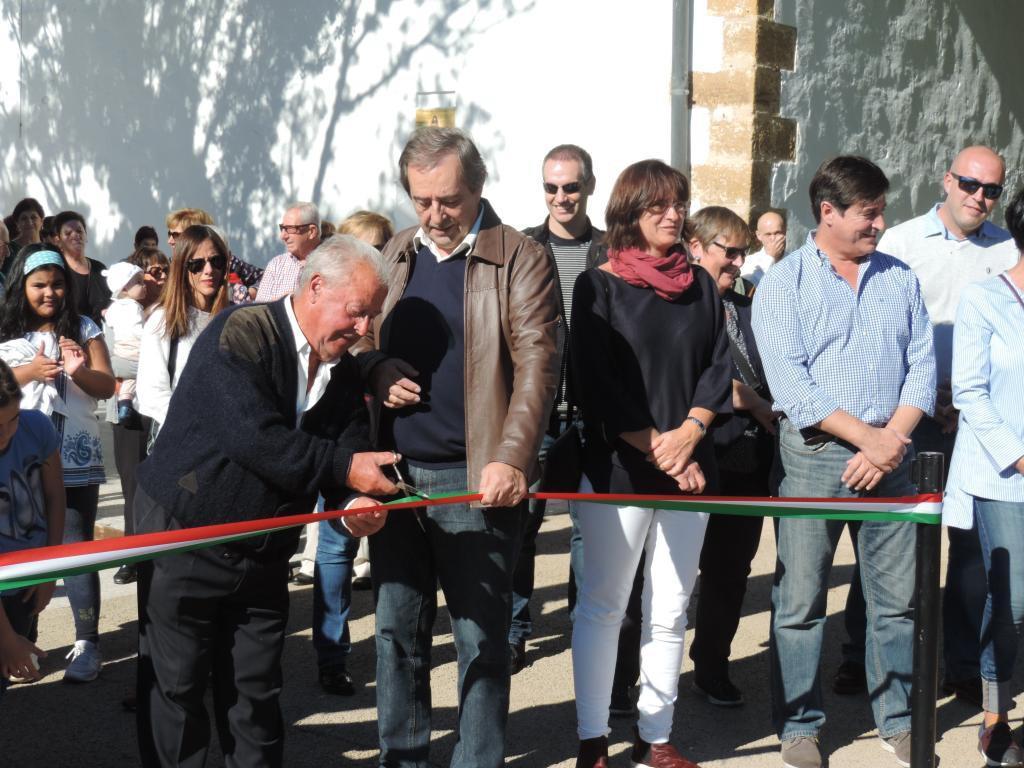 Santa Luziako parkearen inaugurazioa