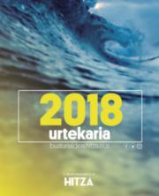 2018ko urtekaria