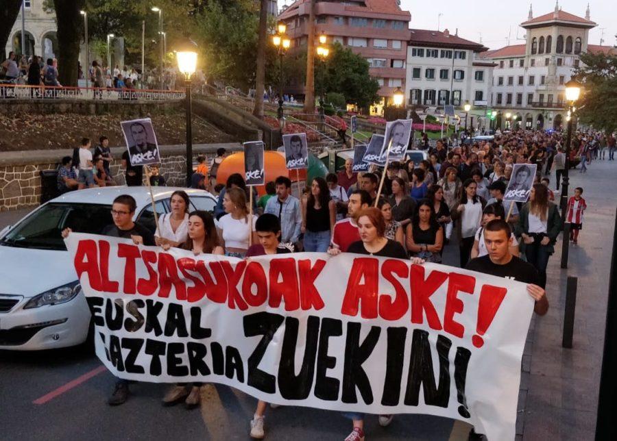 Gernika manifestazioa altsasu