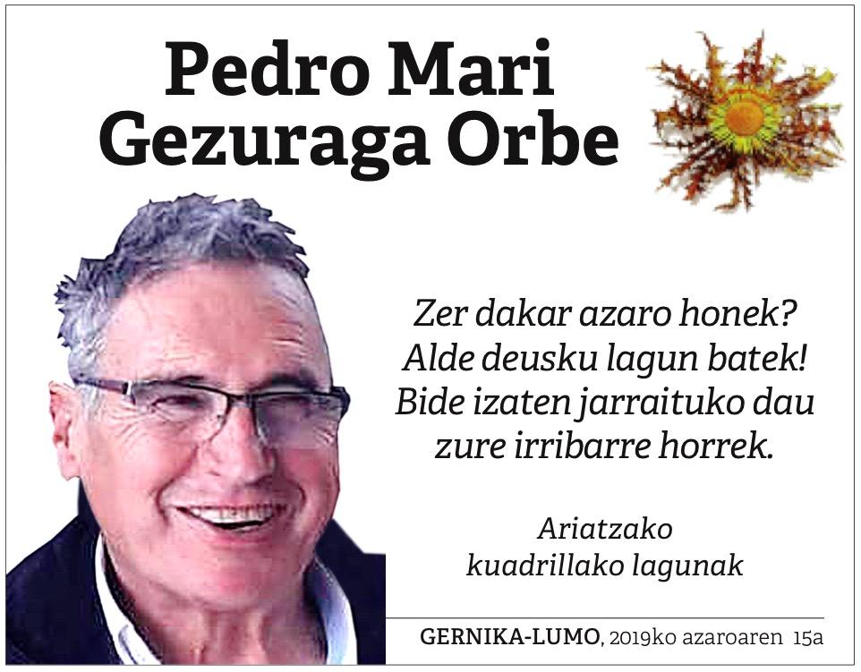 Pedro Mari Gezuraga Orbe