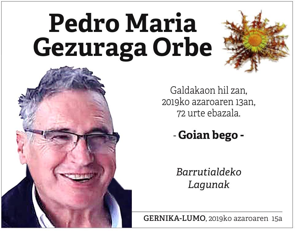Pedro Mari Gezuraga