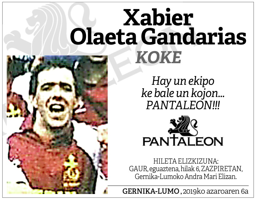 Xabier Olaeta Gandarias